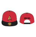 STAR TREK Scotty Engineering Baseball Cap, Red