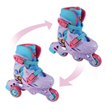 DISNEY Frozen Evolution 2-in-1 Tri to Inline Roller Skates, 27-30