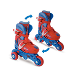 THE AMAZING SPIDER-MAN Evolution Quads to Inline Roller Skates (27-30) (2-in-1) (OPSI084)