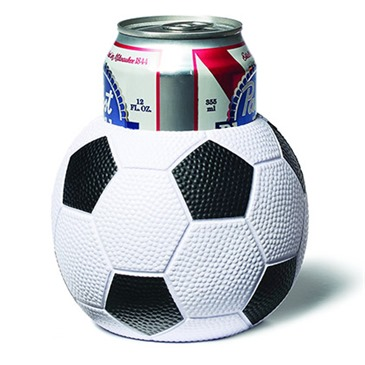 Soccer Ball Beer Can Koozie
