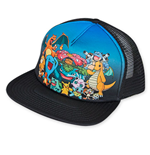 POKEMON Sublimated Characters Trucker Hat