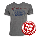 BUDWEISER Retro Pop Top T-Shirt