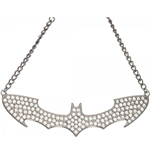 BATMAN Women's Rhinestone Choker Necklace