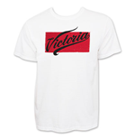 Victoria White Distressed Men's T-Shirt