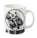 2000AD Judge Dredd Mug Bike Logo