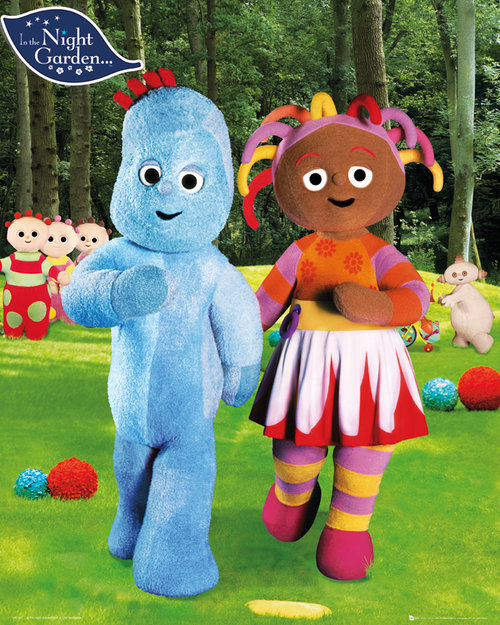 In-The-Night-Garden-Iggle-Piggle-and-Upsy-Daisy-Mini-Poster