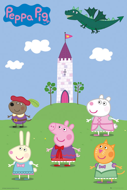 Peppa Pig Fairytale Maxi Poster