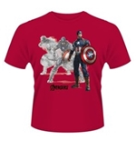 Avengers Age Of Ultron T-Shirt Captain America Draw