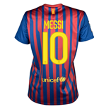 2011-12 Barcelona Nike Womens Home Shirt (Messi 10)