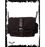 Messenger Bag with Leather Buckle