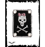 "Patch ""Girly Skull"""