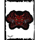 Patch: Flaming Devil with Tridents
