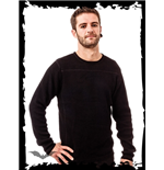 Heavy Black Knitted Sweater