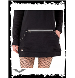 Studded Mini Dress with Front Pocket