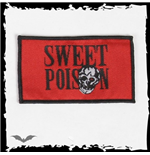Red SWEET POISON patch.