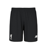 2015-2016 Liverpool Home Goalkeeper Shorts (Black)