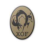 Metal Gear Solid V Patch XOF Logo