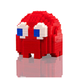 Pac-Man Pixel Bricks Ghost