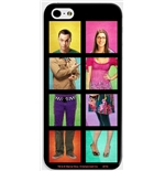 Big Bang Theory iPhone Case -  Sheldon and Bernadette