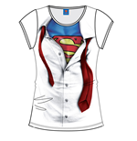Superman Ladies T-Shirt Costum