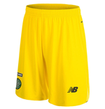 2015-2016 Celtic Home Goalkeeper Shorts (Yellow)