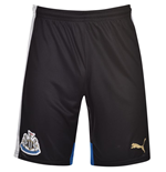 2015-2016 Newcastle Home Football Shorts (Kids)