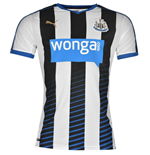 2015-2016 Newcastle Home Football Shirt (Kids)