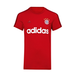 2015-2016 Bayern Munich Adidas Graphic Tee (Red)