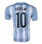 2015-16 Argentina Home Shirt (Riquelme 10) - Kids