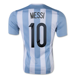 2015-16 Argentina Home Shirt (Messi 10) - Kids
