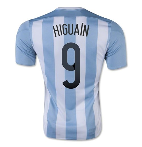 2015-16 Argentina Home Shirt (Higuain 9) - Kids