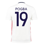 2015-16 France Away Shirt (Pogba 19)