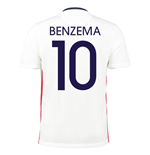 2015-16 France Away Shirt (Benzema 10)