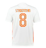2015-2016 Holland Nike Away Shirt (Strootman 8)
