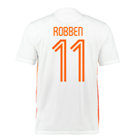 2015-2016 Holland Nike Away Shirt (Robben 11)