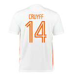 2015-2016 Holland Nike Away Shirt (Cruyff 14) - Kids