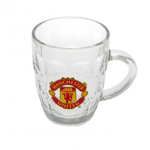 Manchester United F.C. Glass Tankard