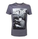 STAR TREK Men's Spock is a DJ T-Shirt, Small, Grey