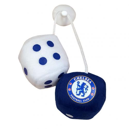 Chelsea F.C. Furry Dice