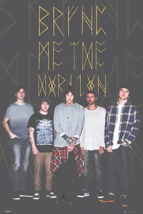 Bring Me The Horizon Group Black