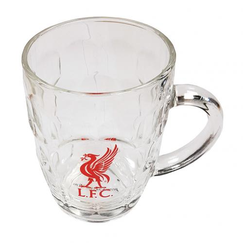 Liverpool F.C. Glass Tankard