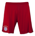 2015-2016 Bayern Munich Adidas Home Shorts (Red) - Kids