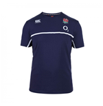 2015-2016 England Rugby Cotton Training Tee (Navy)