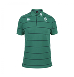 2015-2016 Ireland Stripe Polo Shirt (Green)