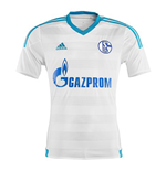 2015-2016 Schalke Adidas Away Football Shirt