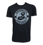 BROOKLYN BREWERY Men's Suede Logo T-Shirt
