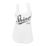 SHINER BEERS White Women's Tank Top