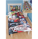 Marvel Avengers 3D Duvet Set Reversible Team 135 x 200 cm
