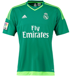 2015-2016 Real Madrid Adidas Away Goalkeeper Shirt