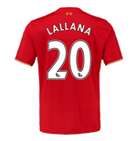 2015-16 Liverpool Home Shirt (Lallana 20) - Kids